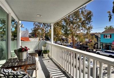 Balboa Island - Main Island (Balm) Multi Family Home For Sale: 319 Marine Avenue