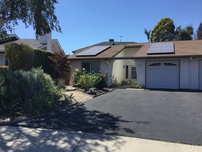 Pismo Beach Single Family Home For Sale: 166 Summit Drive