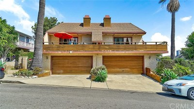 Laguna Beach Multi Family Home For Sale: 496 Cypress Drive