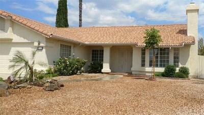 Menifee Single Family Home For Sale: 30128 Pebble Beach Drive