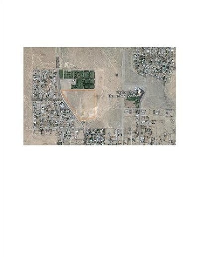 Barstow CA Residential Lots & Land For Sale: $335,000