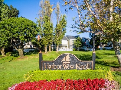 Newport Beach Condo/Townhouse For Sale: 2771 Hillview Drive #4
