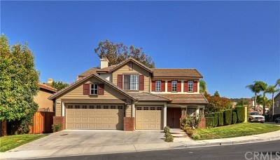 Rancho Santa Margarita Single Family Home For Sale: 18 Greenvale