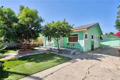 Santa Ana Single Family Home For Sale: 906 S Van Ness Avenue