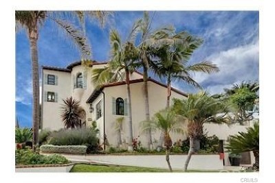 San Clemente CA Single Family Home For Sale: $1,599,000