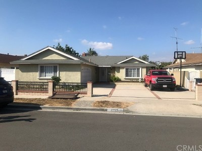 Garden Grove Single Family Home For Sale: 8921 Channing