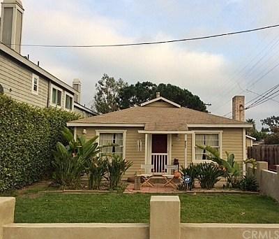 Costa Mesa Single Family Home For Sale: 1750 Santa Ana Avenue