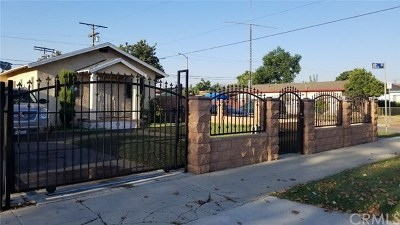 Los Angeles Single Family Home For Sale: 1503 W 68th Street