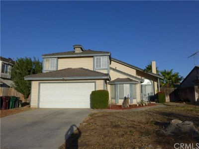 Moreno Valley Single Family Home For Sale: 14230 Travers Drive