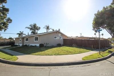 Huntington Beach Single Family Home For Sale: 8572 Orinda Circle
