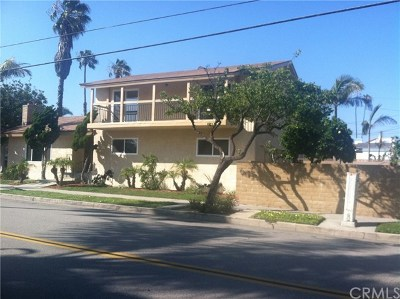 Huntington Beach CA Multi Family Home For Sale: $1,499,000
