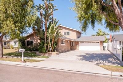 Costa Mesa Single Family Home For Sale: 1112 Carson Street