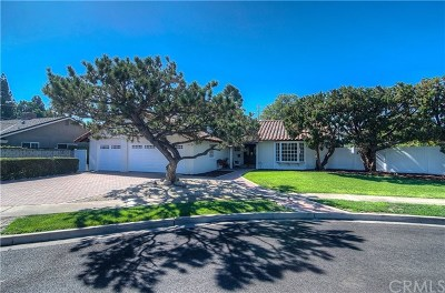 Tustin Single Family Home For Sale: 1942 Red Mill Circle