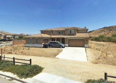 Norco Single Family Home Active Under Contract: 3131 Curly Horse Way