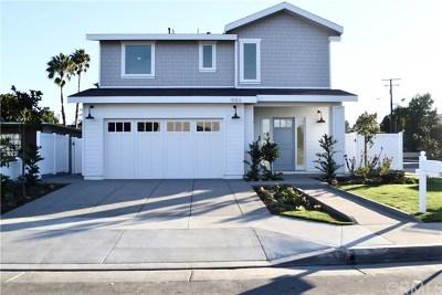 Costa Mesa Single Family Home For Sale: 1053 Wilson Avenue