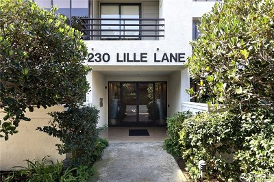 Newport Beach Condo/Townhouse Active Under Contract: 230 Lille Lane #118