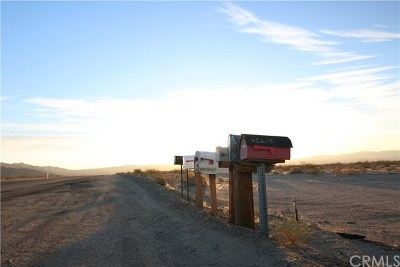 Barstow Residential Lots & Land For Sale: 39939 Johnson Road