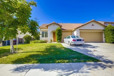 Winchester Single Family Home Active Under Contract: 35361 Saguaro Drive