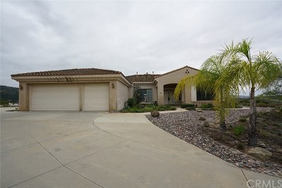 Fallbrook Single Family Home For Sale: 3606 Nettle Place