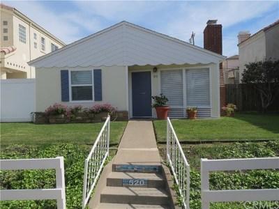 Huntington Beach Rental For Rent: 520 12th Street