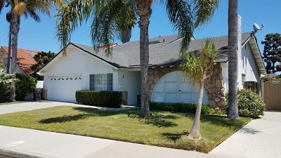 Huntington Beach Single Family Home For Sale: 21432 Lemontree Lane