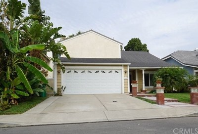 Irvine CA Single Family Home For Sale: $1,049,000