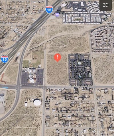Victorville CA Residential Lots & Land For Sale: $2,000,000