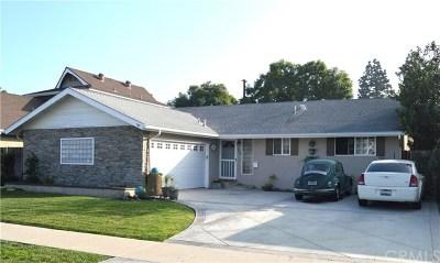 Costa Mesa Single Family Home For Sale: 1345 Garlingford Street