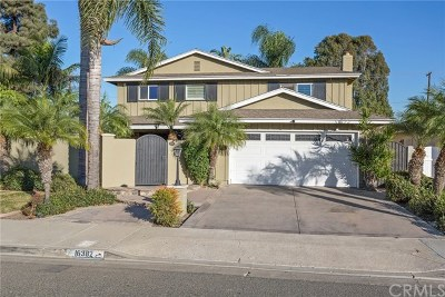 Huntington Beach Single Family Home For Sale: 16382 Whittier Lane