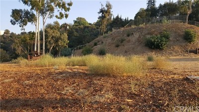 Covina Residential Lots & Land For Sale: E.covina Hills Road