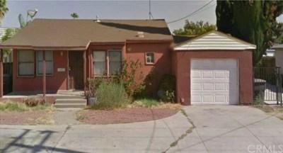 Riverside Single Family Home For Sale: 4359 Van Buren Boulevard