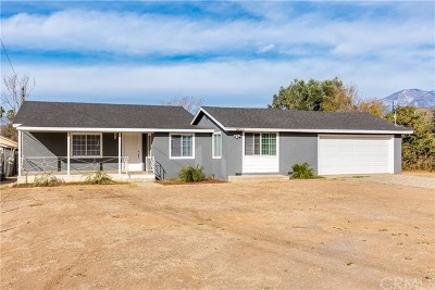 Yucaipa Single Family Home For Sale: 34066 Ave J