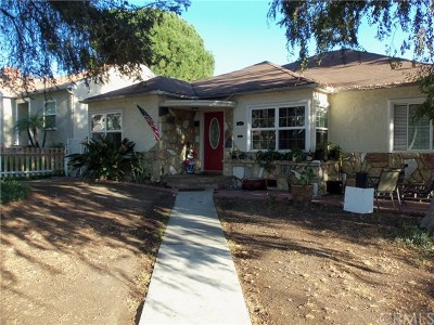 Burbank CA Single Family Home For Sale: $1,100,000