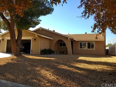 Helendale Single Family Home For Sale: 14507 Schooner Drive