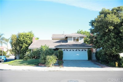 Irvine Single Family Home For Sale: 3551 Nutmeg