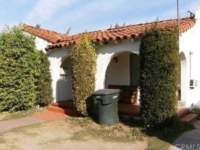 Tustin Single Family Home For Sale: 133 Yorba Street