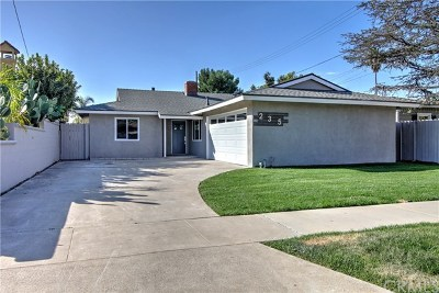 Costa Mesa Single Family Home For Sale: 235 22nd Street