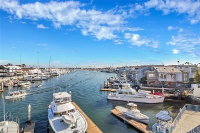 28th Street Marina (Tesm) Condo/Townhouse For Sale: 2600 Newport Boulevard #314