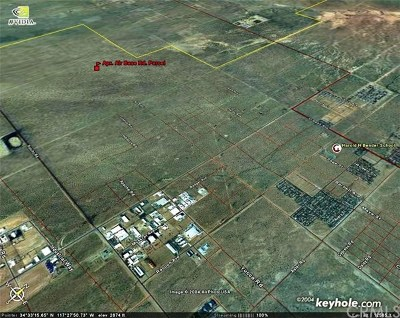 Adelanto Residential Lots & Land For Sale: Air Expressway Boulevard