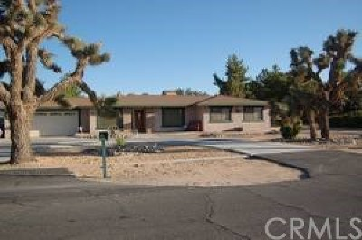 Apple Valley Single Family Home For Sale: 20219 Ituma Road