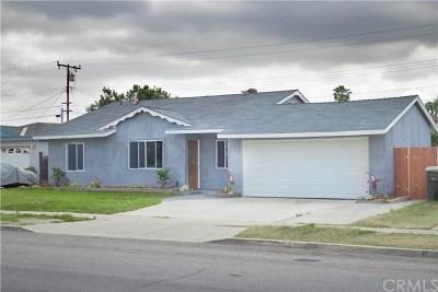 Anaheim Single Family Home For Sale: 2116 W Sunrise Avenue