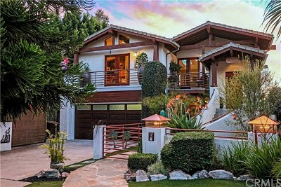 Dana Point Single Family Home For Sale: 34031 Mazo Drive