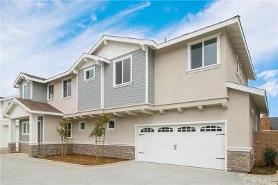 Costa Mesa Single Family Home For Sale: 353 E 18th Street #C