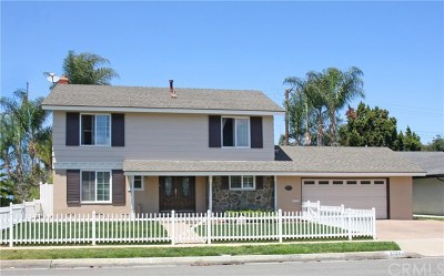 Fountain Valley Single Family Home For Sale: 8729 Nightingale Avenue
