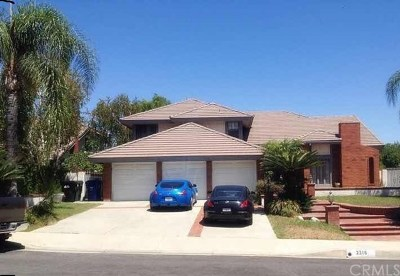 Rowland Heights Single Family Home For Sale: 2316 Delfs Lane
