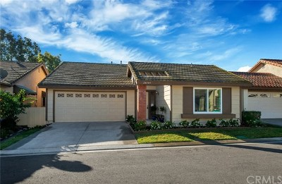 Mission Viejo CA Single Family Home For Sale: $775,000