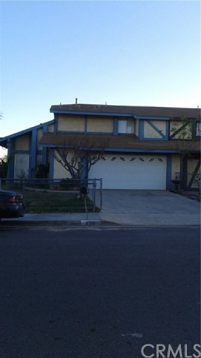 Perris Single Family Home For Sale: 439 W 13th Street