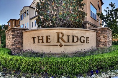 Mission Viejo Condo/Townhouse For Sale: 1 Aliso Ridge