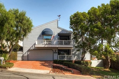 Dana Point Single Family Home For Sale: 33952 Granada Drive