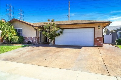 Fountain Valley Single Family Home For Sale: 17538 Santa Maria